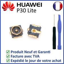 CONNECTEUR SUR CARTE MÈRE DU CABLE COAXIAL DE L'ANTENNE GSM DU HUAWEI P30 LITE