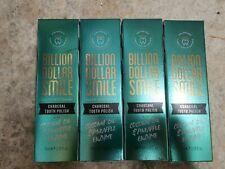 4x Billion Dollar Smile Charcoal Tooth Polish 75ml