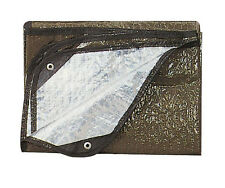 Survival Blanket Olive Drab Aluminized Casualty Disaster Blanket Made in the USA