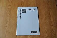 Grundig Studio 310 Audio Unit Genuine Service Manual