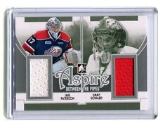 2014 In The Game #ASP-06 Aspire Between the Pipes Paterson/Howard Jersey jh11