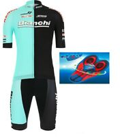"TEAM BIANCHI MTB 2019 Cycling Summer Set 9d Gel Pad ""NEW"""