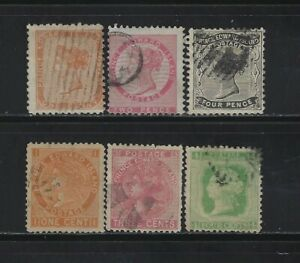 CANADA - PRINCE EDWARD ISLAND USED STAMPS LOT
