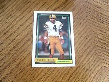 Brett Favre  TOPPS  First   ROOKIE  CARD ,AS PACKARD  HIGH  # 696  BV $  farve*2