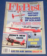 FLYPAST MAGAZINE DECEMBER 1987 - TREASURES OF ICELAND/FIRST CLASS CHIPS