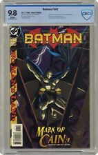 Batman #567 CBCS 9.8 1999 1st app. Cassandra Cain/Batgirl