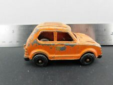 Vintage 1975 TootsieToy Orange Honda Civic MADE IN THE USA #MJ8
