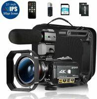 Ordro AC3 4K Camcorder HD Digital Video Camera 1080P 60FPS Infrared US SELLER