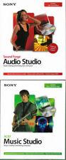 SONY SOUND FORGE Audio Studio 8.0 and SONY ACID Music Studio 6.0a Bundle Windows