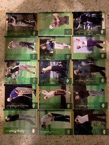 14 CARD LOT 2001 UPPER DECK DEFINING MOMENTS INSERT UD SET TIGER WOODS ROOKIE RC