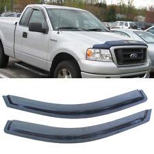 2pcs For 04-08 Ford F-150 Standard/Regular Cab Sun Rain Vent Shade Window Visors