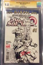 JOE SIMON signed CGC 9.8 Comic CAPTAIN AMERICA Steve Rogers Super Soldier #1