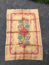 Vintage Floral Wonder Art Embroidery Yarn Wool Rug Hooking pattern