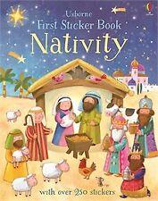 USBORNE FIRST STICKER BOOK NATIVITY