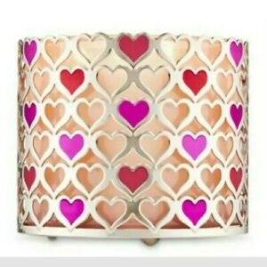 Bath & Body Works Heart Candle Sleeve / New - Free Shipping!!!