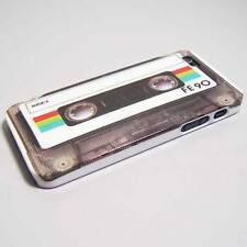 Premium Cassette Tape Design Snap-On Hard Cover for iPhone 5 / 5S / SE