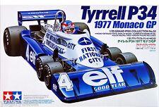 Modellino AUTO FORMULA 1 ANNI 70 TYRRELL P34 SCALA 1:20 IN SCATOLA DI MONTAGGIO