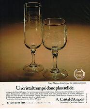 verre cristal matignon