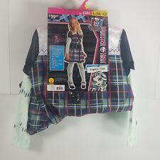 Halloween Costume Dress-up Monster High Frankie Stein Girl L (10-12) GH