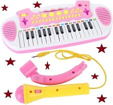 Piano Toy Keyboard Multi-functional Music Instruments with Microphone