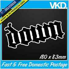Down Sticker/Decal - Band Music Vinyl Hardcore Heavy Metal Car Fridge Slipknot