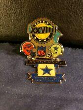 NFL Super Bowl XXVIII Dallas Cowboys Championship Pin (New/Unused)