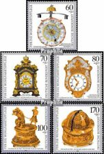 BRD (BR.Duitsland) 1631-1635 (compleet.Kwestie) postfris 1992 edele Horloges