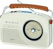 AEG Digitalradio Retro NDR 4156 creme DAB+ UKW-Radio Wecker LCD-Display