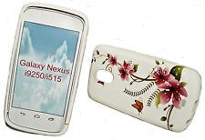 Design no. 5 Silicone TPU Cover Case + Pellicola Protettiva Display Samsung i9250