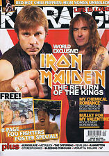 IRON MAIDEN / MY CHEMICAL ROMANCE Kerrangno.106623July2005