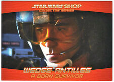 Star Wars Shop Promo Card #1 Exclusive Wedge Antilles StarWarsShop.com