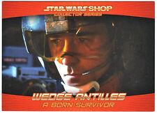 Star Wars Shop Promo Card #1 Exclusive Wedge Antilles StarWarsShop.com
