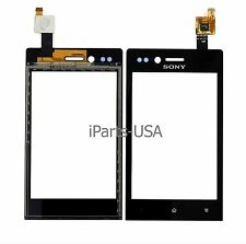 USA OEM Digitizer Touch Screen Lens Panel for Sony Xperia miro ST23a ST23i ST23