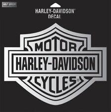 "HARLEY DAVIDSON CHROME B&S DECAL  2 1/4"" INCH  DECAL"