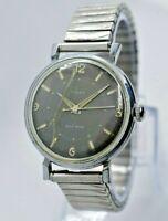 Rare Vintage 1950s Men's Timex Self-Wind Automatic Watch, Black (Parts/Repair)