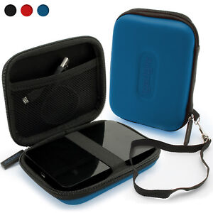 Blue Case Cover for Western Digital Portable Hard Drive For New Ultra Edition