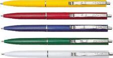 50 x Kugelschreiber Milan farbig sortiert 1mm, Dokumentenecht, Schreibfarbe blau
