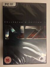 Mass Effect 3 N7 Collector's Edition PC Windows, 2012 Rare UK Version BBFC Rated