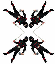 Ninja Assassin Mercenary Shinobi Spy Ninjutsu Creed Supernatural Toddler Costume
