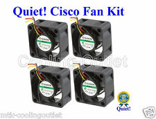 Set of 4x Quiet fans for Cisco SG300-52P 12dBA noise best for home net work