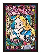 Disney Alice in Wonderland Stained Art Jigsaw Puzzle 266 pcs 18.2x25.7cm