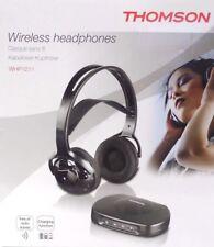 "Thomson Wireless / kabelloser ""Over Ear"" Stereo Kopfhörer - mit Akku - 10M RW"