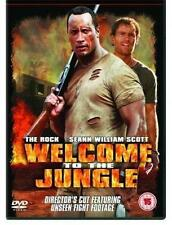 WELCOME TO THE JUNGLE Dwayne 'The Rock' Johnson Action Chase Thriller DVD *EXC*