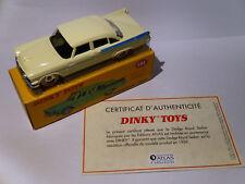Dodge Royal Sedan + certificat - ref 191  au 1/43 de dinky toys atlas