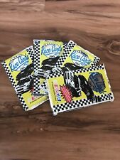 Lot Of 4 Packs 1991 Max NASCAR Race Cards