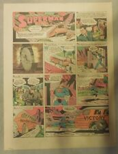 Superman Sunday Page #167 by Siegel & Shuster from 1/10/1943 Tab Page:Year #4!