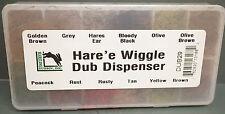 Hare´ e WIGGLE Dub Dispenser DUB29 Hareline U.S.A.  Hase & Gummibeinchen Dub Box