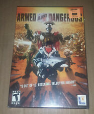 LucasArts Armed And Dangerous Windows PC CD-ROM, Factory Sealed
