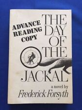 THE DAY OF THE JACKAL - ADVANCE READING COPY BY FREDERICK FORSYTH