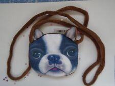 FRENCH BULL DOG SOFT FEEL HANDBAG PURSE BAGS BAG NEW GIFT IDEA CUTE XMAS